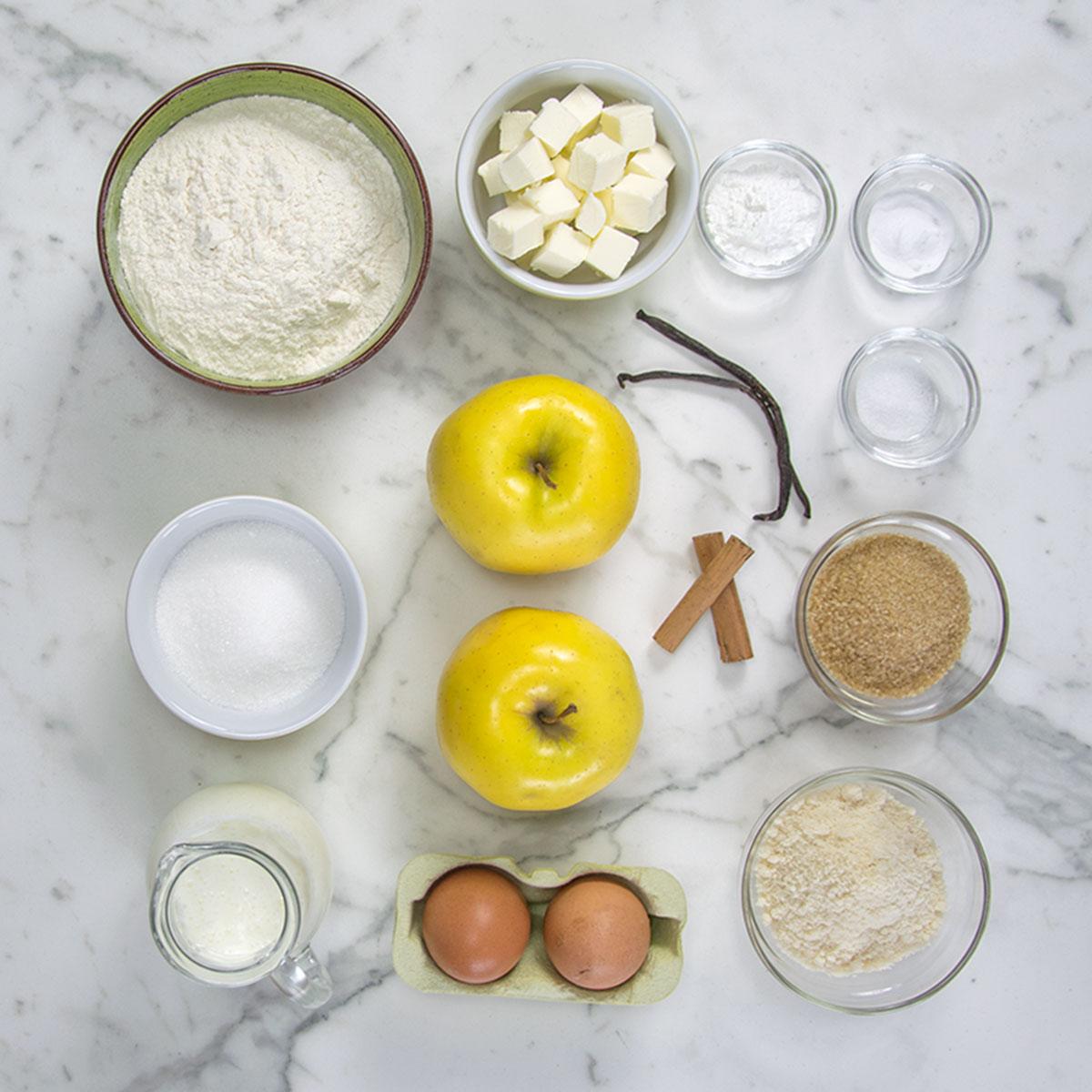 streusel_muffin_mele_cannella_ingredienti