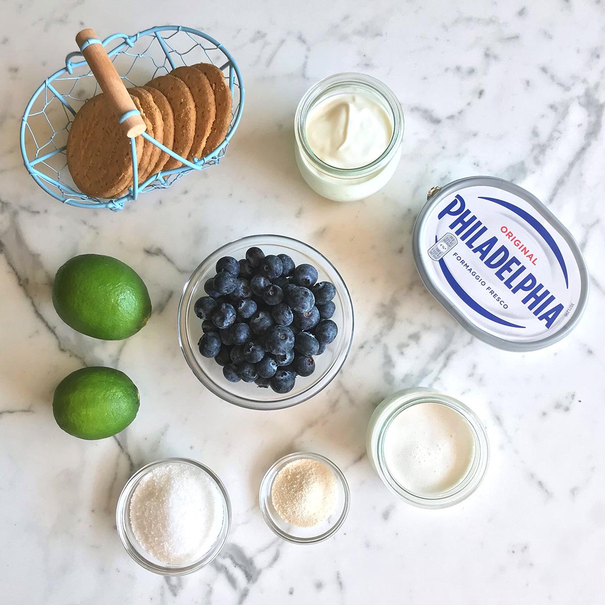 cheesecake_mirtilli_lime_ingredienti