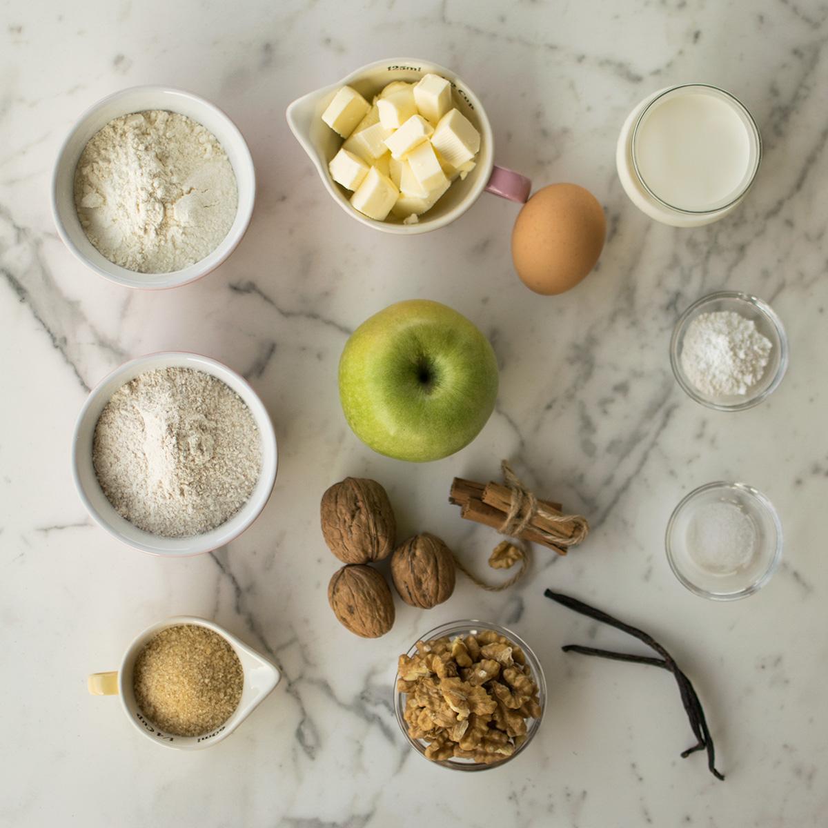 muffin_mele_cannella_noci_ingredienti