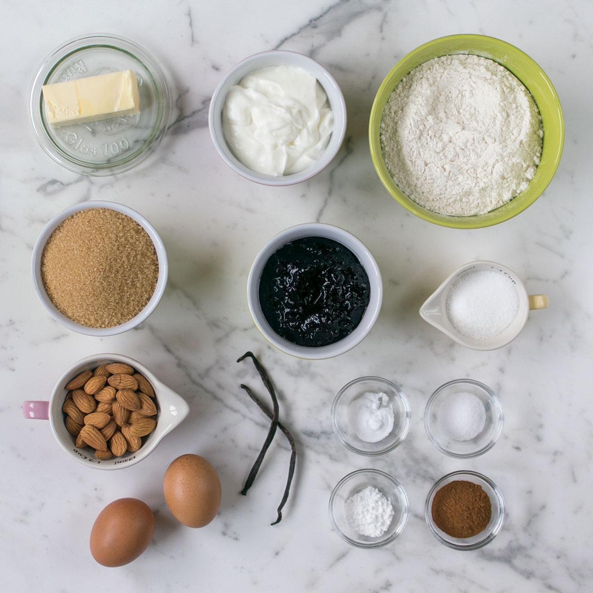 plum-cake_caannella_confettura_mirtilli_ingredienti