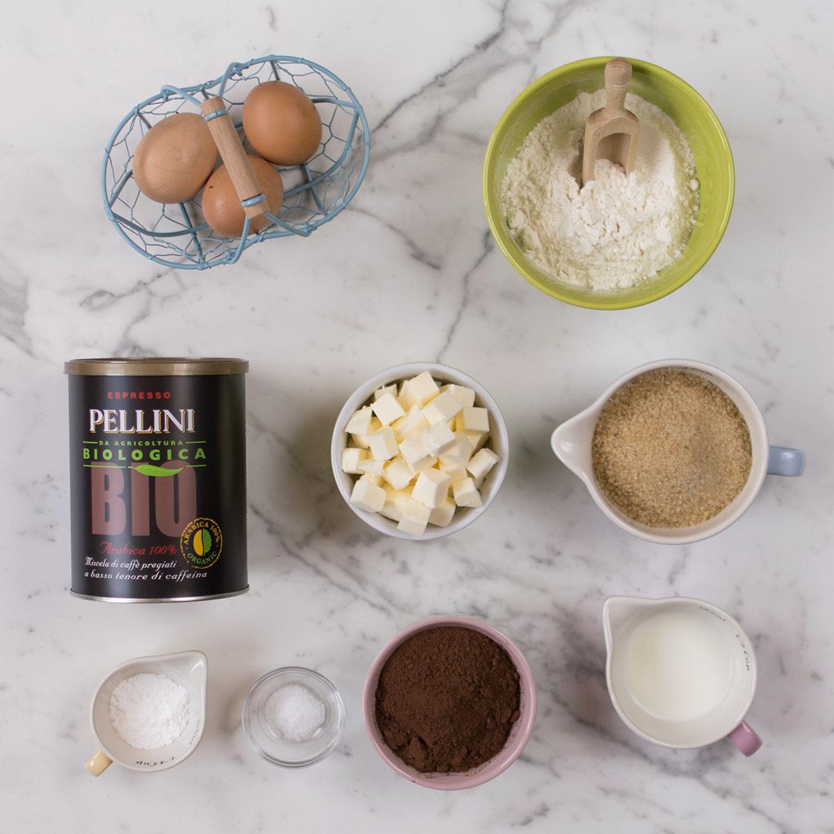 plumcake_cioccolato_caffè_espresso_ingredienti