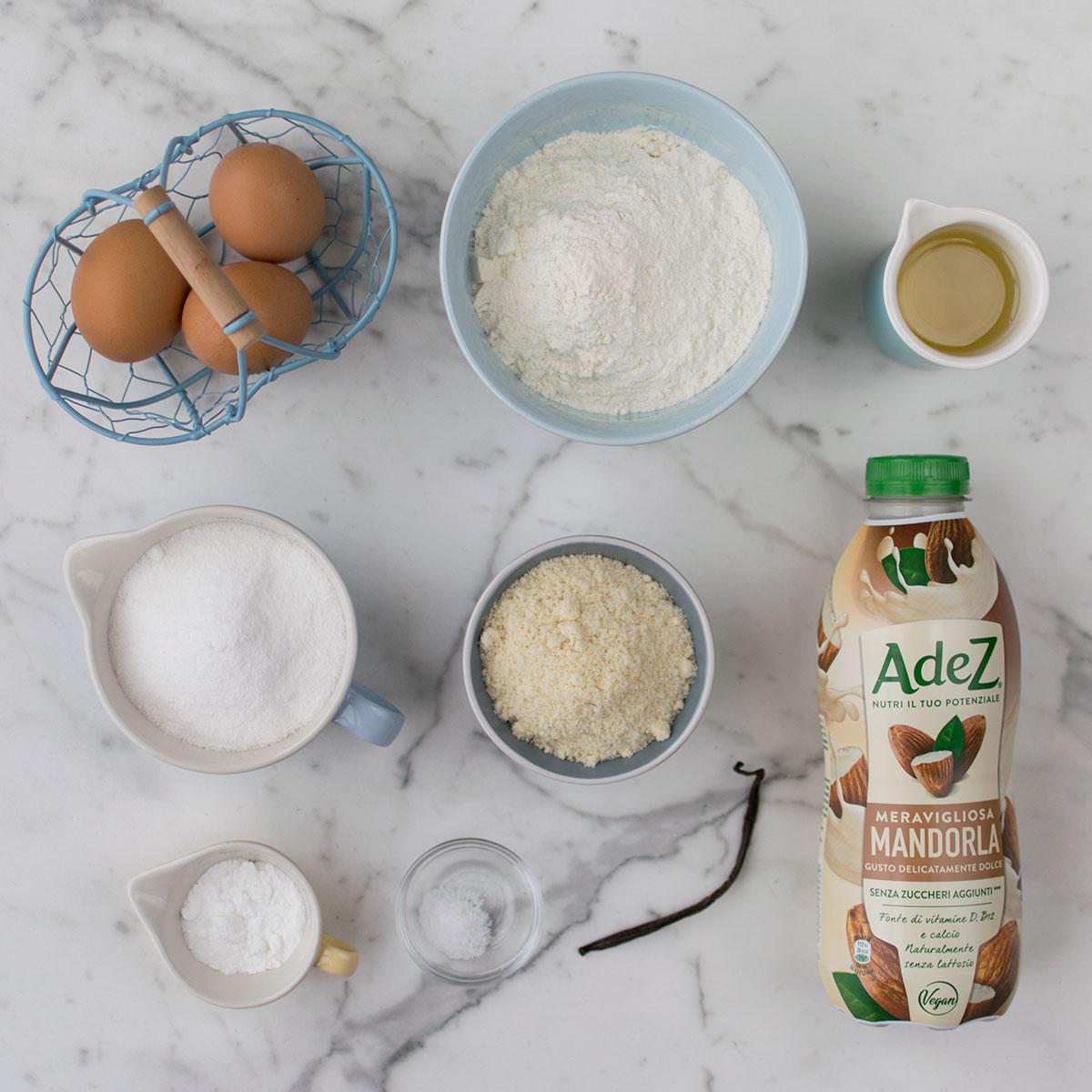 bundt_cake_mandorle_ingredienti
