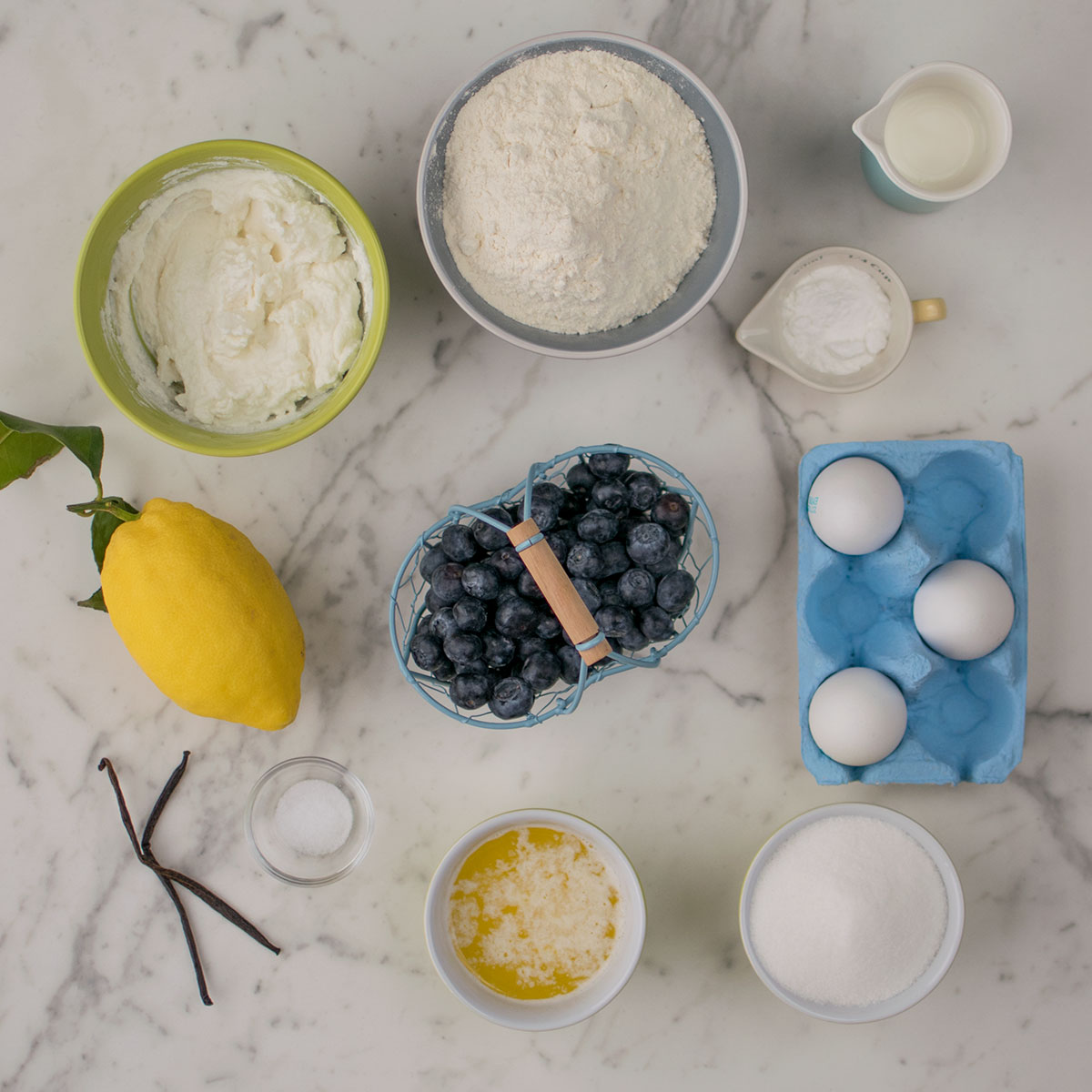 bundt_cake_ricotta_mirtilli_limone_ingredienti