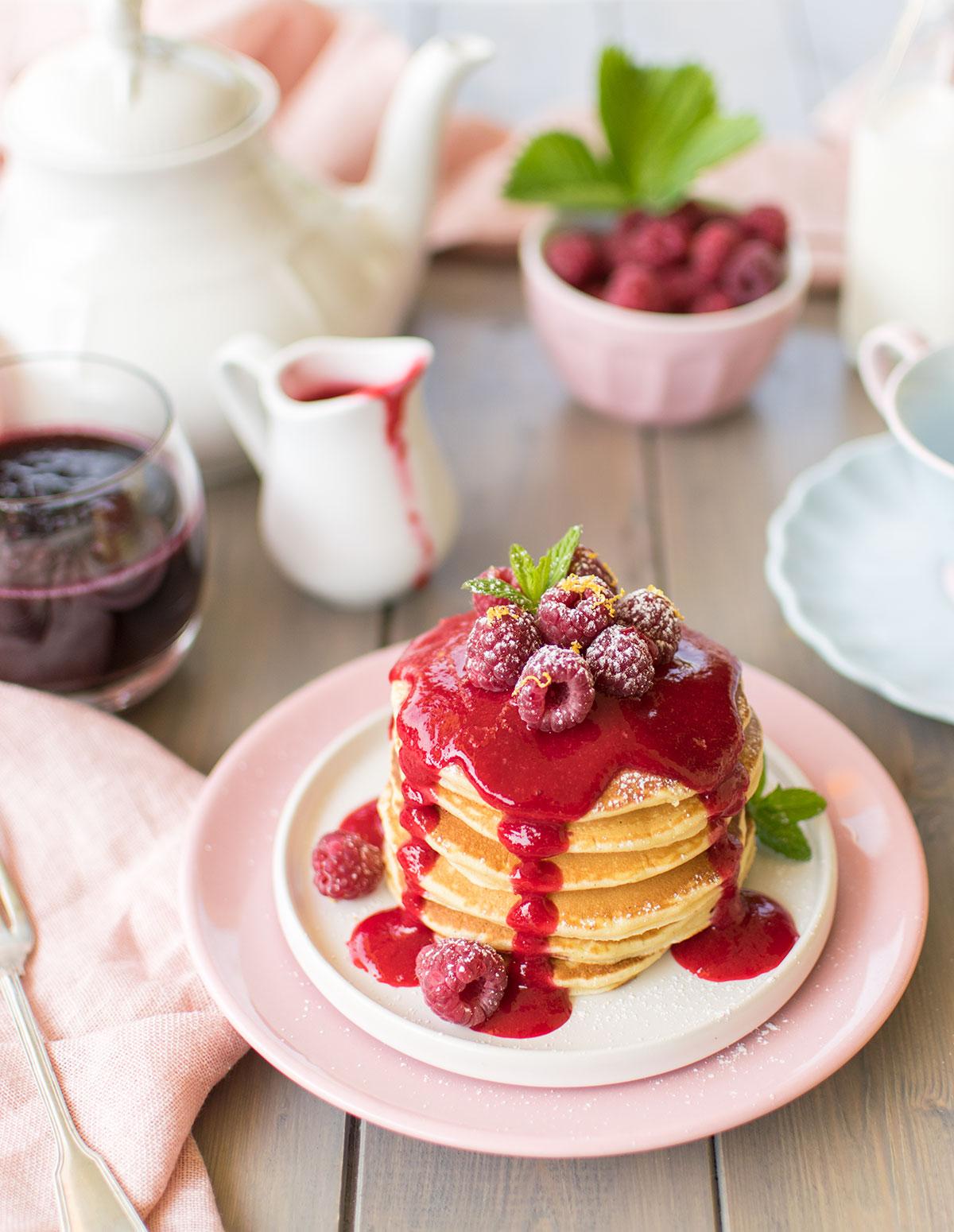 pancakes_lamponi_ricetta