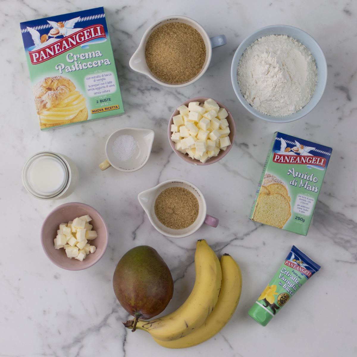 crumble_mango_banana_ingredienti