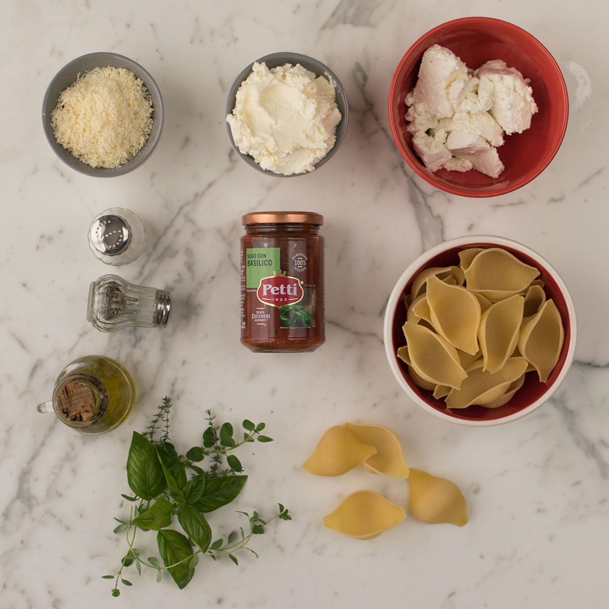 conchiglioni_ripieni_formaggi_erbette_ingredienti
