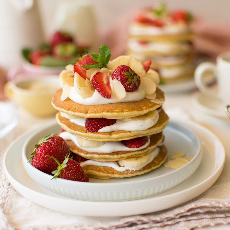 pancakes_fragole_banana_mandorle_ricetta_2